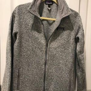 Patagonia Better Sweater - Gray Full Zip